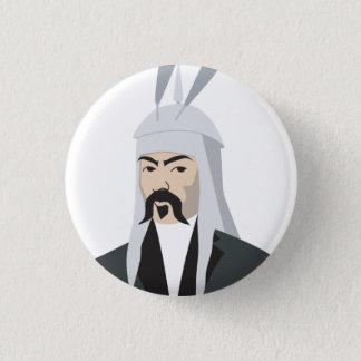 Ghengis Khan Button