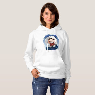 Ghenny the Littlefeet - Women´s Hooded Sweatshirt