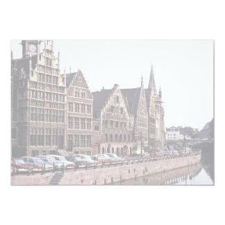 Ghent, Belgium 5x7 Paper Invitation Card
