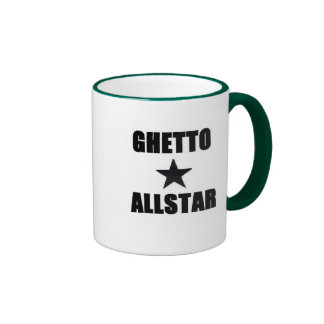 Ghetto Allstar Ringer Mug