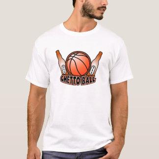 Ghetto Ball Basket Ball Beer Shirt 2