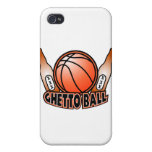 Ghetto Ball Basket Ball Beer Shirt 2 Case For iPhone 4