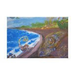 Ghetto Beach Stretched Canvas Prints