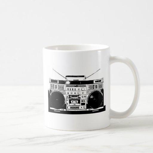 Ghetto Blaster Coffee Mugs