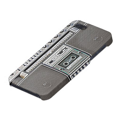 GHETTO BLASTER COVER FOR iPhone SE/5/5s