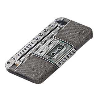 GHETTO BLASTER iPhone 4/4S CASE