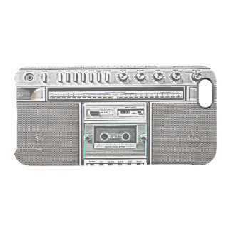 GHETTO BLASTER UNCOMMON CLEARLY™ DEFLECTOR iPhone 6 CASE