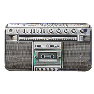 GHETTO BLASTER iPod Case-Mate CASE
