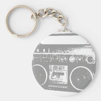 Ghetto Blaster Keychains