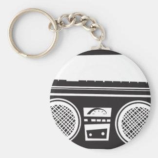 Ghetto Blaster Key Chain