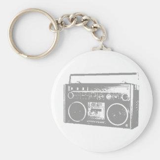 Ghetto Blaster Key Chains