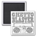Ghetto Blaster-Magnet