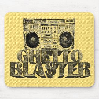 GHETTO BLASTER MOUSE PAD