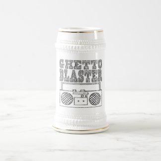 Ghetto Blaster-Stein 18 Oz Beer Stein