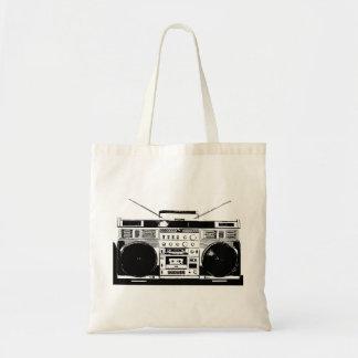 Ghetto Blaster Tote Bag