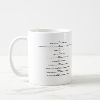 Ghetto Bushi Code, Health..Learn your body eat ... Coffee Mug