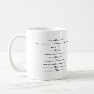 Ghetto Bushi Code, Health..Learn your body eat ... Classic White Coffee Mug