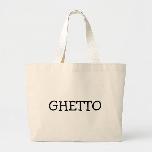 Ghetto Canvas Bag