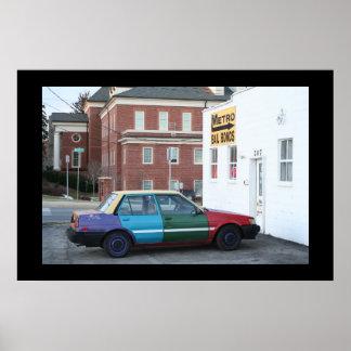 Ghetto Car Poster