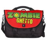 Ghetto del zombi - el logotipo del ghetto del zomb bolsas de portátil