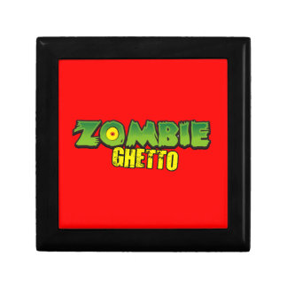 Ghetto del zombi - el logotipo del ghetto del zomb cajas de regalo
