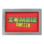Ghetto del zombi - el logotipo del ghetto del zomb hebillas de cinturon
