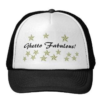 ¡Ghetto fabuloso con las estrellas! Gorras