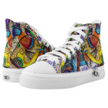 Ghetto Graffiti High-Top Sneakers