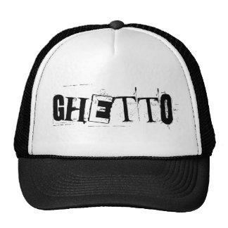 ghetto. trucker hats