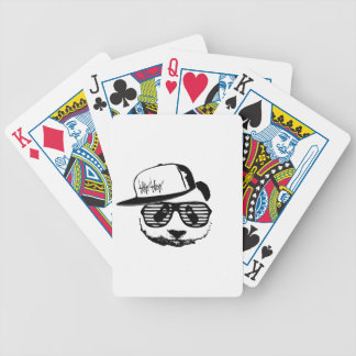 Ghetto panda bicycle playing cards