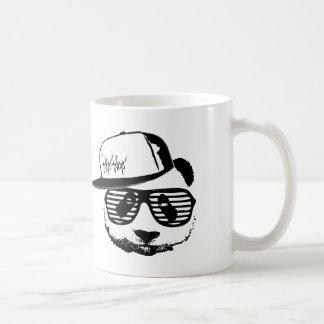 Ghetto panda classic white coffee mug