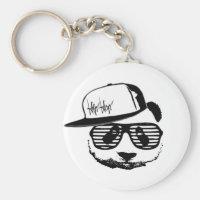 Ghetto panda keychain