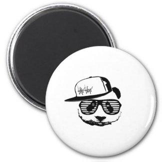 Ghetto panda magnet