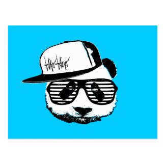 Ghetto panda postcard