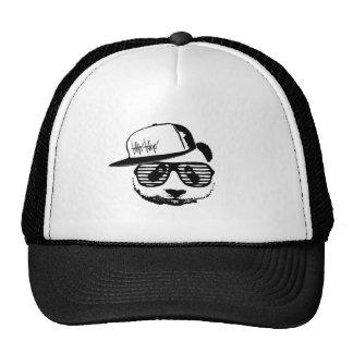 Ghetto panda trucker hat