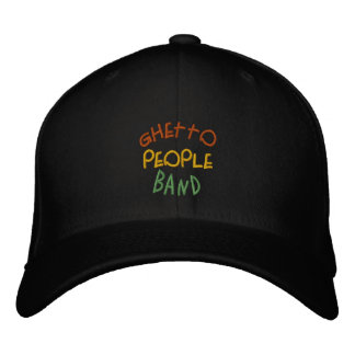 GHETTO People Band Hat Embroidered Baseball Caps
