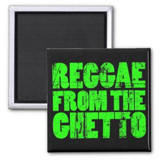 Ghetto Reggae Magnet