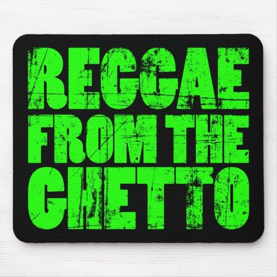 Ghetto Reggae - Mouse Pad (Green)