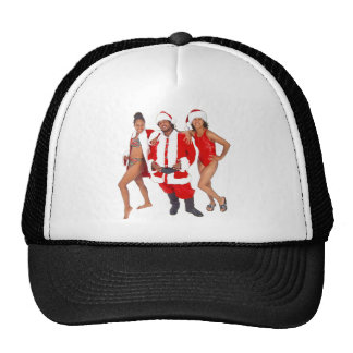 Ghetto Santa and his Elves from the Hood Trucker Hat