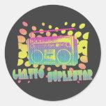 Ghetto Superstar Round Sticker