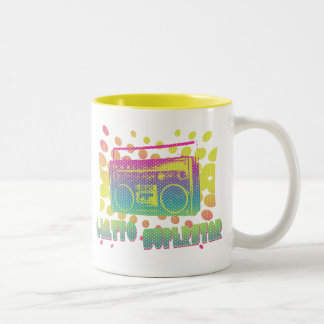Ghetto Superstar Two-Tone Coffee Mug