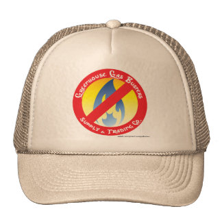 GHG Busters Supply & Trading Official Logo Hat! Trucker Hat