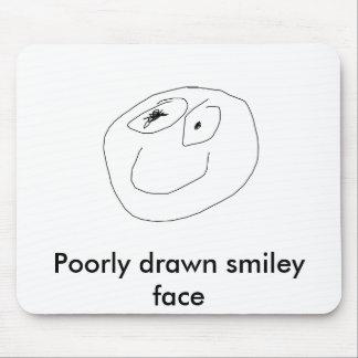 GHHHHHHHHHHHHHHHHHHHHHHHHHHHHHH, Poorly drawn s... Mouse Pad