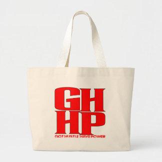 GHHP RED LOGO CANVAS BAG
