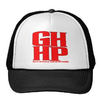 GHHP RED LOGO TRUCKER HAT