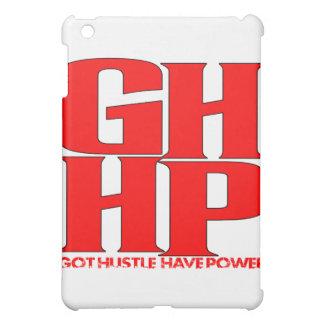 GHHP RED LOGO iPad MINI CASE