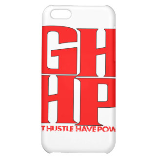 GHHP RED LOGO iPhone 5C CASES