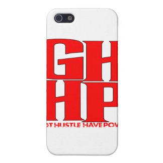 GHHP RED LOGO COVER FOR iPhone 5