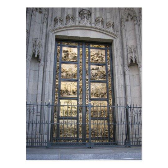 Ghiberti Doors Postcard