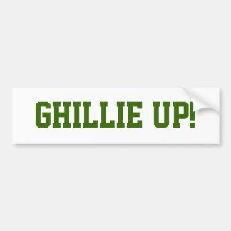 Ghillie Up! Bumper Sticker